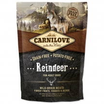 CARNILOVE Reindeer for Adult