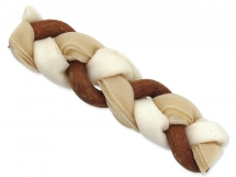 ONTARIO Rawhide Snack Braided Stick Mix 17,5 cm