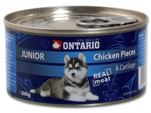 ONTARIO Junior chicken pieces + cartilage