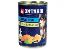 ONTARIO Mini multi fish and salmon oil