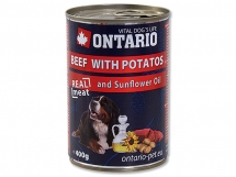 ONTARIO Beef, potatos, snflower oil