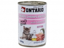 ONTARIO Kitten Chicken, Shrimp, Rice and Salmon oil