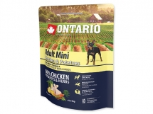 ONTARIO Adult Mini Chicken & Potatoes & Herbs 0,75 kg