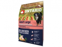 ONTARIO Adult Large Chicken & Potatoes & Herbs 2,25 kg