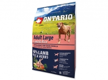 ONTARIO Adult Large Lamb & Rice & Turkey 2,25 kg