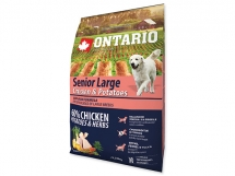 ONTARIO Senior Large Chicken & Potatoes & Herbs 2,25 kg