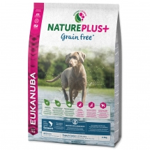 EUKANUBA Nature Plus+ Puppy Grain Free Salmon