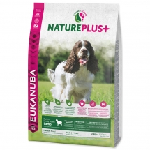 EUKANUBA Nature Plus+ Adult Medium Breed Rich in Lamb