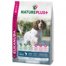 EUKANUBA Nature Plus+ Adult Medium Breed Rich in Salmon
