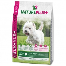EUKANUBA Nature Plus+ Adult Small Breed Rich in Lamb