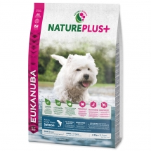 EUKANUBA Nature Plus+ Adult Small Breed Rich in Salmon