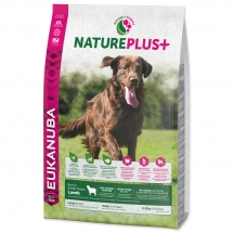 EUKANUBA Nature Plus+ Adult Large Breed Rich in Lamb