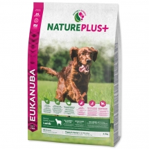 EUKANUBA Nature Plus+ Puppy & Junior Rich in Lamb