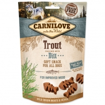 CARNILOVE Dog Semi Moist Snack Trout enriched with Dill