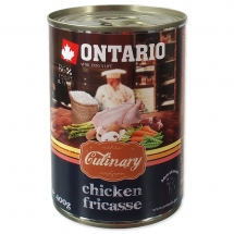 ONTARIO Culinary Chicken Fricasse 400g
