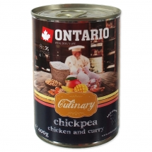 ONTARIO Culinary Chickpea, Chicken and Curry 400g
