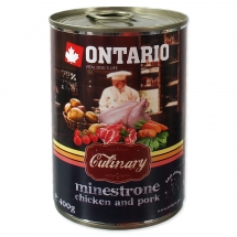 ONTARIO Culinary Minestrone Chicken and Pork 400g