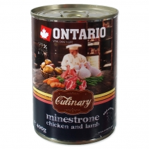 ONTARIO Culinary Minestrone Chicken and Lamb 400g