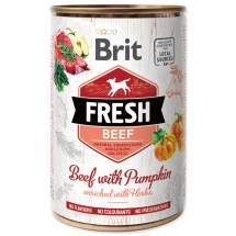BRIT Fresh Beef with Pumpkin 400